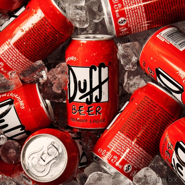 DUFF BEER 24 CAN PACK