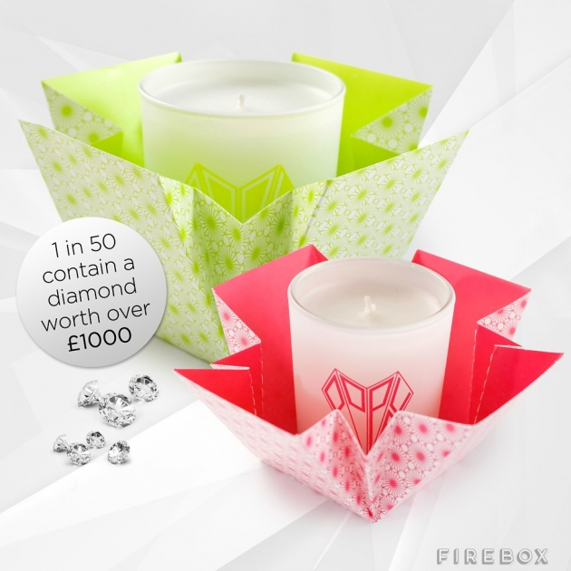POP-UP DIAMOND CANDLES