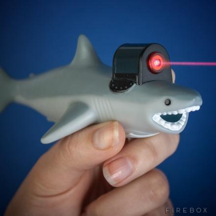SHARK WITH FRICKIN LASER BEAM
