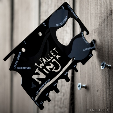 THE WALLET NINJA 16-IN-1 MULTI-TOOL