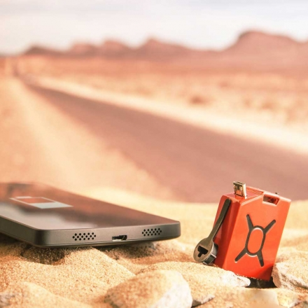 Fuel: The World's Smallest Phone Charger