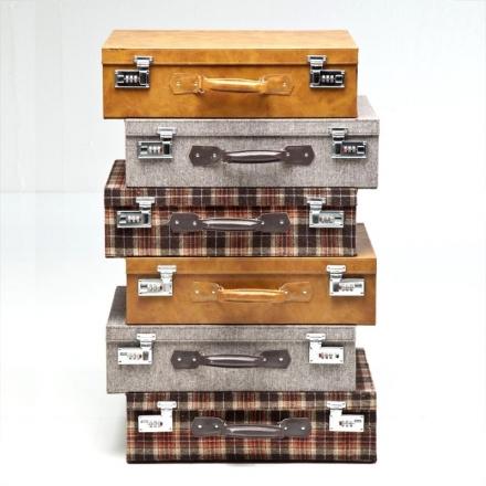 Highland Suitcase Dresser