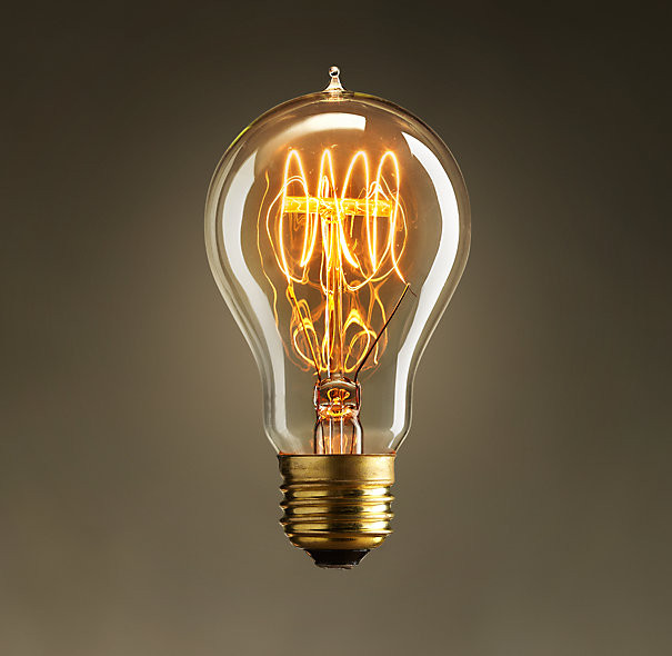 EDISON FILAMENT BULB VINTAGE SQUIRREL CAGE RETRO
