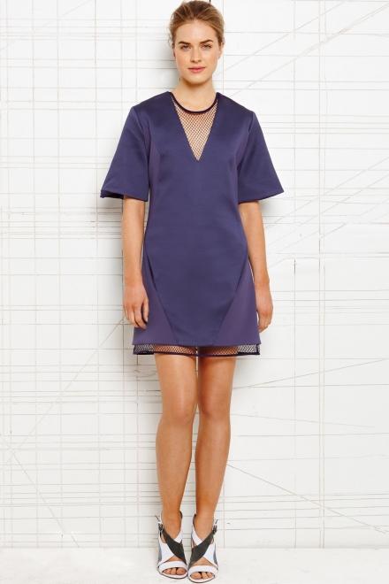Richard Nicoll Mesh Illusion Dress