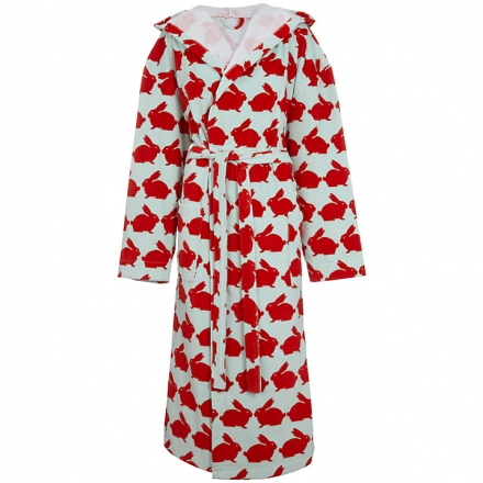 Anorak Rabbit Unisex Bathrobe