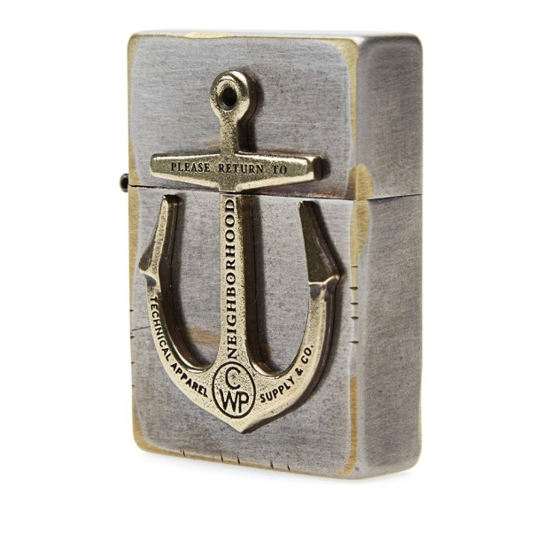 Neighborhood Anchor Zippo Lighter
