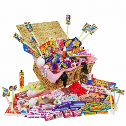 Retro 'Fizzy Favourites' Sweet Hamper