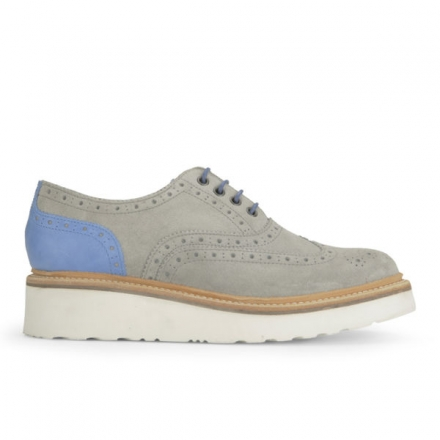 GRENSON WOMEN'S EMILY SUEDE BROGUES