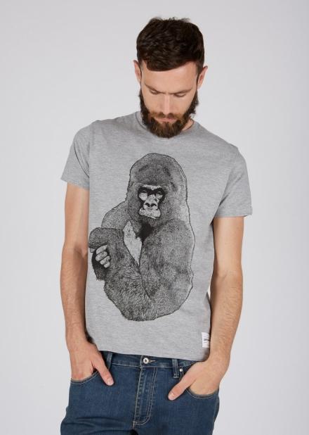 Silver Gorilla T-Shirt