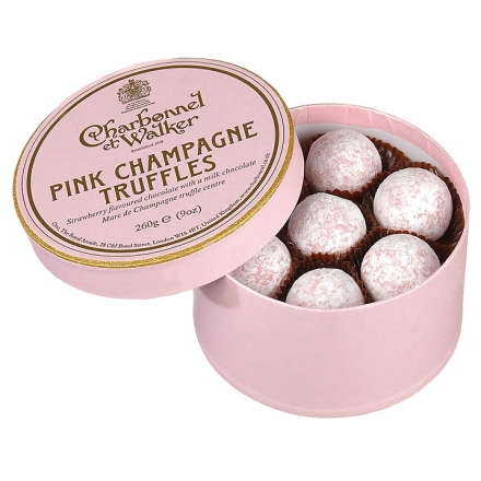 Charbonnel et Walker Pink Champagne Truffles