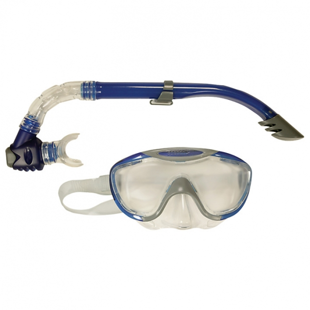 Speedo Glide Mask & Snorkel Set