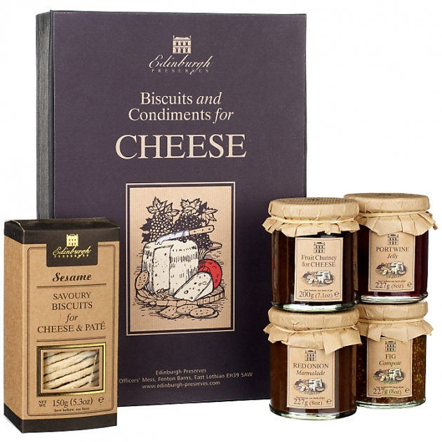Edinburgh Preserves Cheese Box