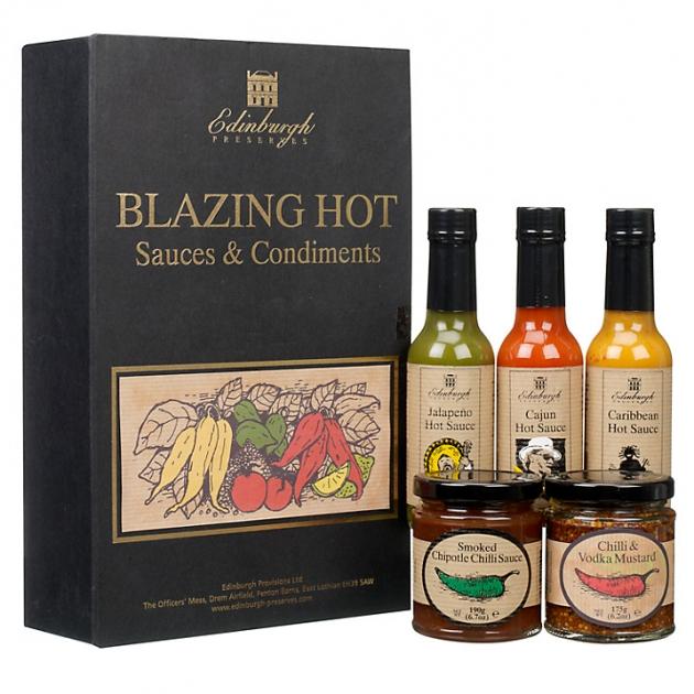 Edinburgh Preserves Blazing Hot Box