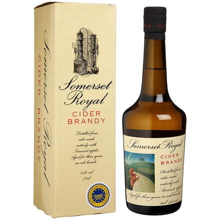 Lyme Bay Somerset Cider Brandy 3 Year Old