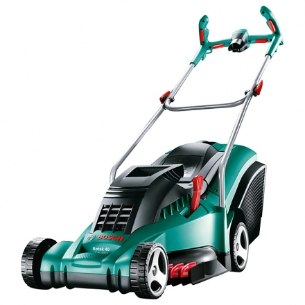 Bosch Rotak 40 Ergoflex Rotary Hand-Propelled Electric Lawnmower
