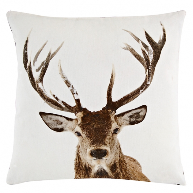 John Lewis Stag Head Cushion