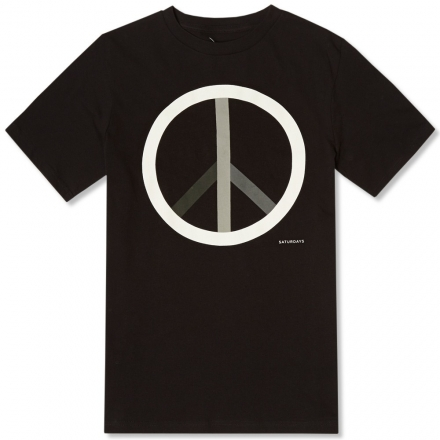 Saturdays Peace Tee