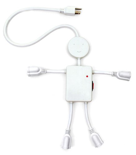 Electro Man 4-Plug Multi-Outlet