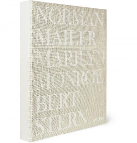 MARILYN MONROE SIGNED HARDCOVER BOOK