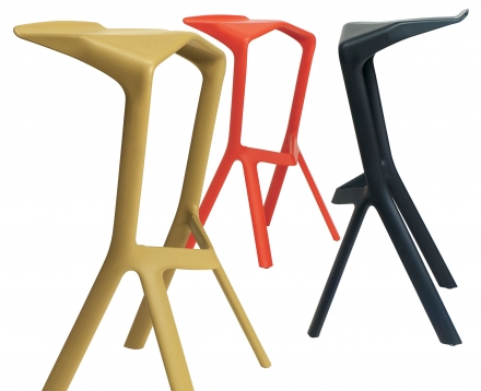 Miura High stool – Plank
