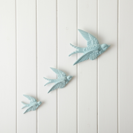 ceramic swallows