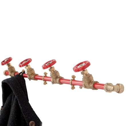 Pipework Coat Rack