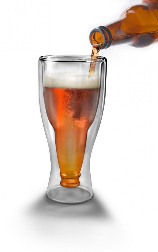 Hopside down Upside-down bottle glass 33 cl