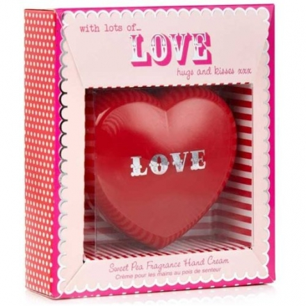 Nourishing Heart Sweet Pea Hand Cream