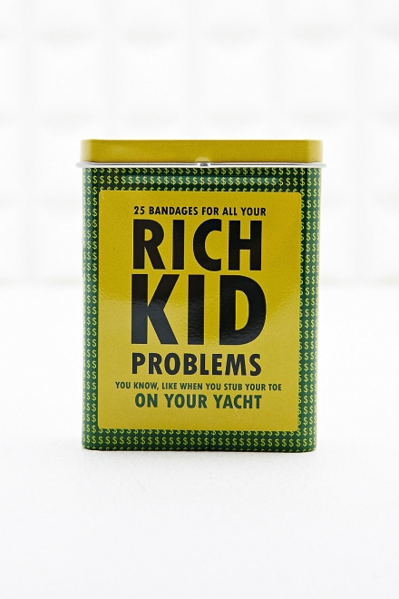 Rich Kid Problem Plasters
