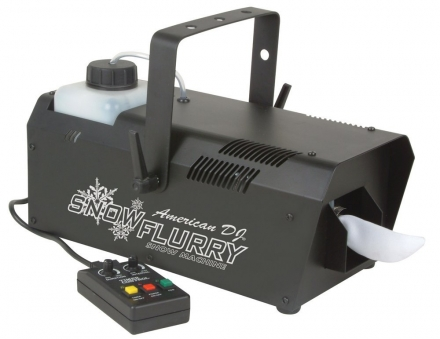 DJ Snow Flurry Snow Machine with Timer Remote