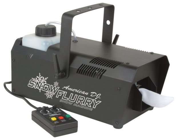 DJ Snow Flurry Snow Machine with Timer Remote