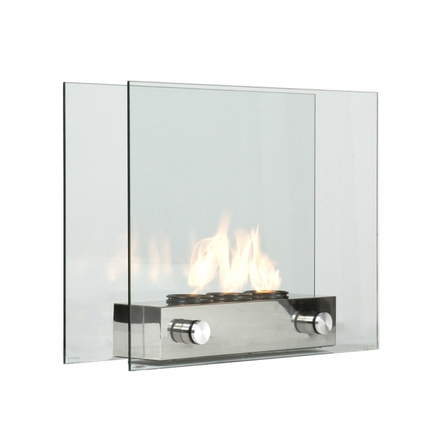 Glass Loft Portable Indoor/ Outdoor Fireplace