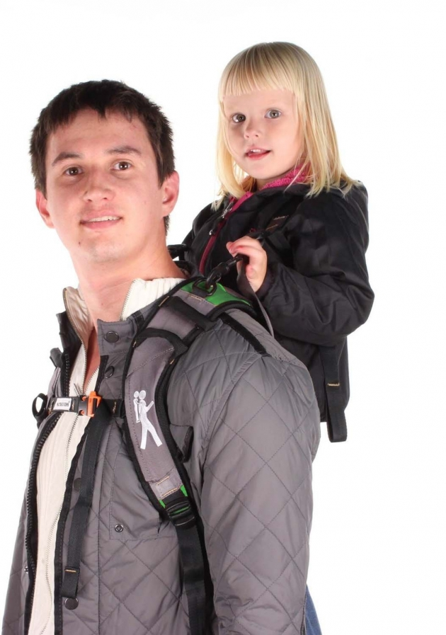 The Piggyback Rider Standing Child Carrier