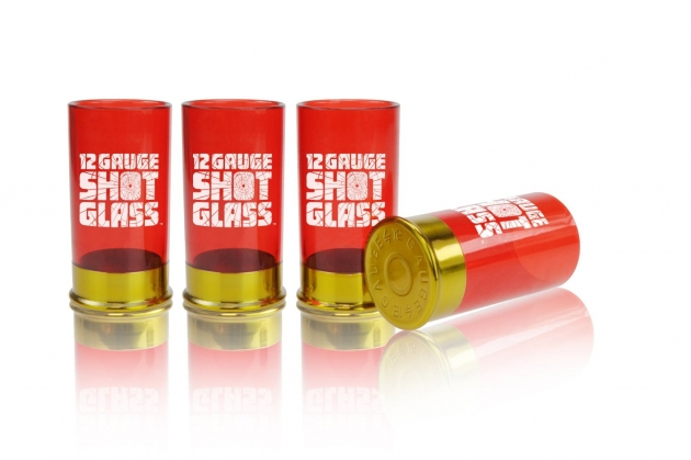 12-gauge Shot Glass cartridge