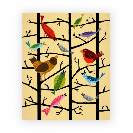 "Canvas ""For All The Birds"""