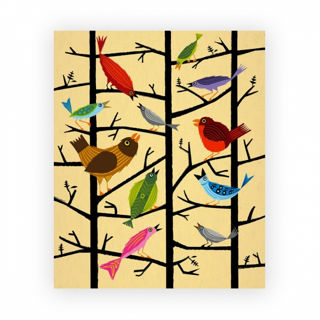 """Canvas """"For All The Birds"""""""