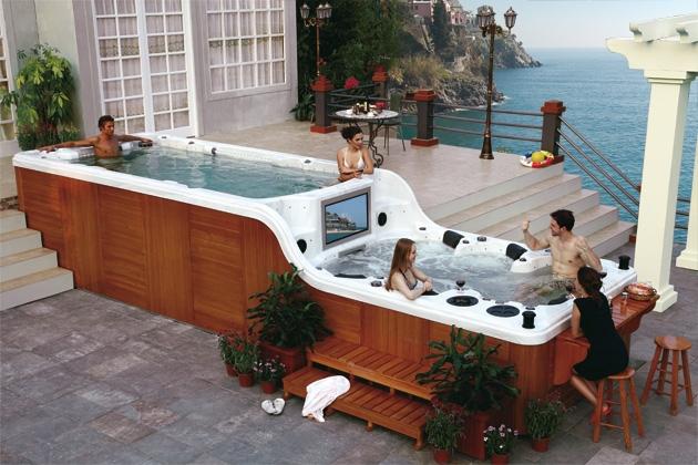 Swim Spa Luxema 8000