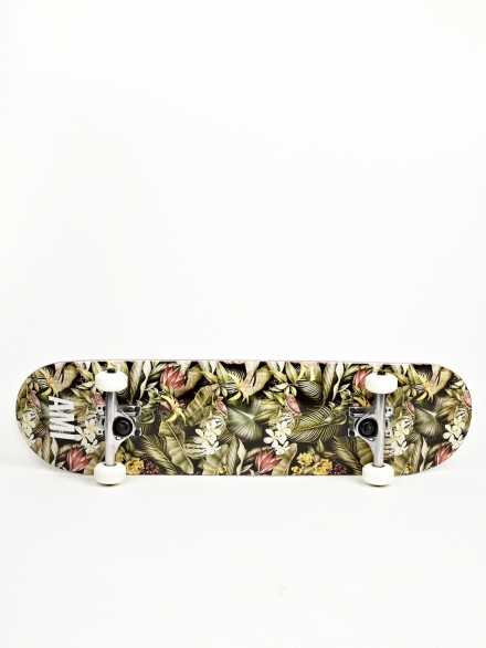 AMI BLACK PRINTED SKATEBOARD