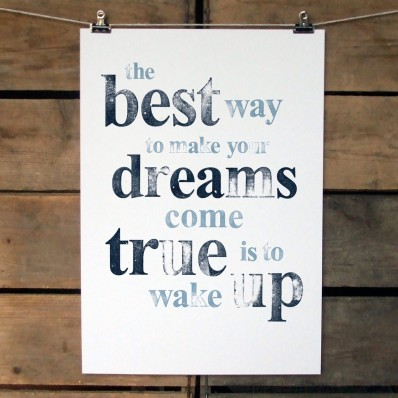 'Dreams' Print