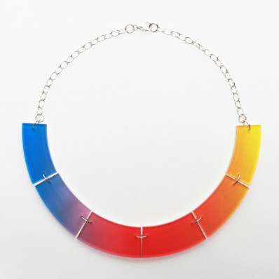 Semi Circle Fade Necklace