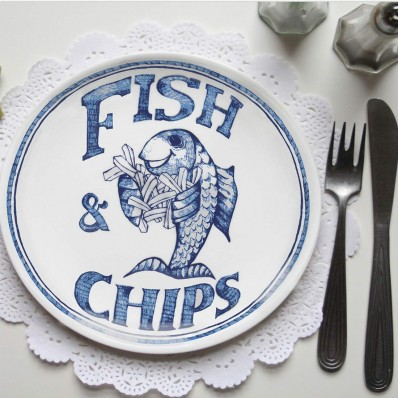 Chippy Plate – Traditional
