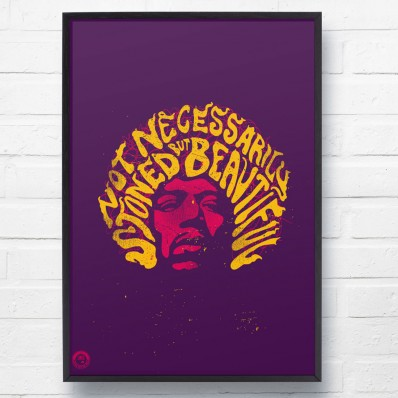 Hendrix 'Are You Experienced' Print