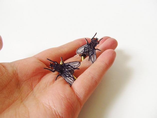 House Fly Cufflinks