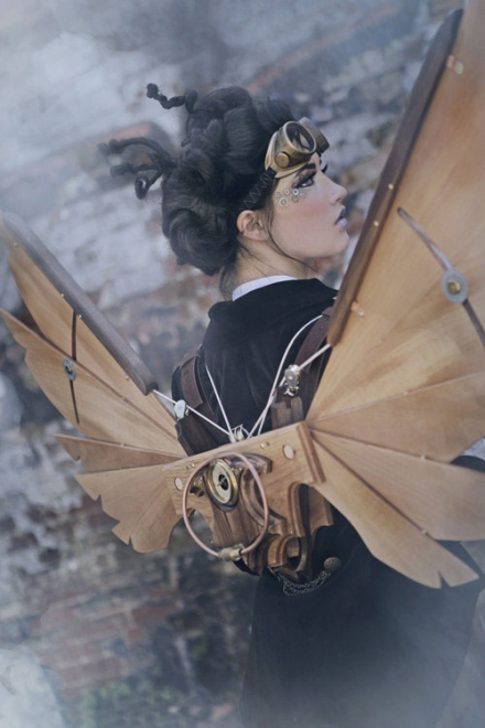 Steampunk Icarus Wings