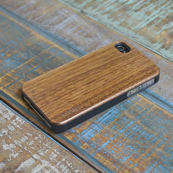 Real Wood iPhone 4 4S Case