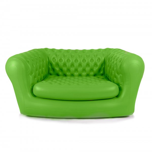 Inflatable Green ChestAIRfield Sofa