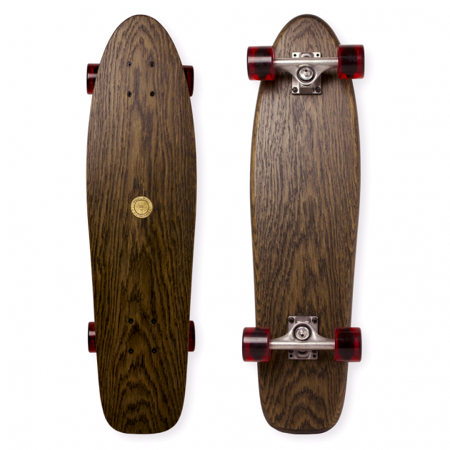 SKILLS OR SKULLS LONG CRUISER SKATEBOARD