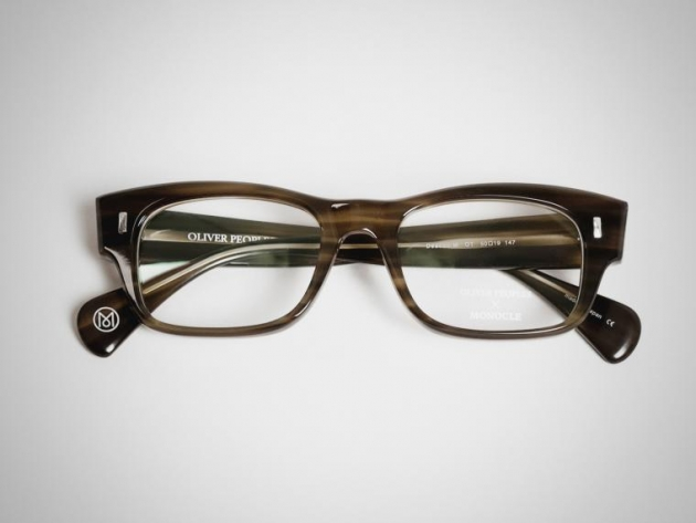 OLIVER PEOPLES DEACON FRAMES | Monocle