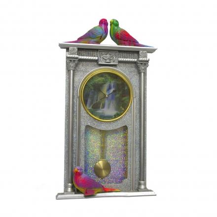 GLITTERGUN$ PIMPER'S PARADISE WALL CLOCK