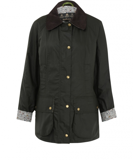 BARBOUR | OLIVE BEADNELL KATIE AND MILLIE LIBERTY PRINT JACKET